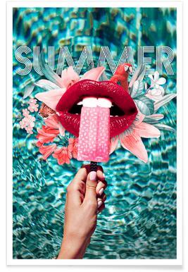 Summer Vibes Plakat