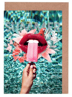 Summer Vibes Greeting Card Set
