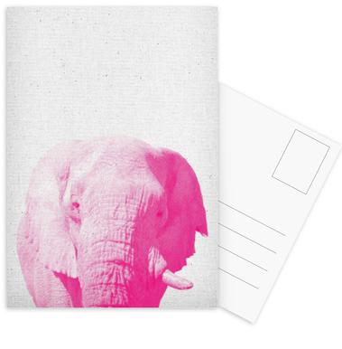 Elephant 02 Postcard Set