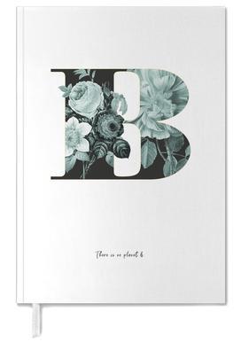 Flower Alphabet - B -Terminplaner