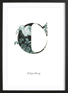 Flower Alphabet - C