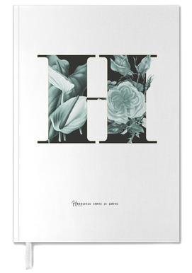 Flower Alphabet - H agenda