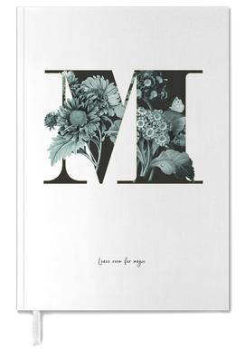 Flower Alphabet - M -Terminplaner