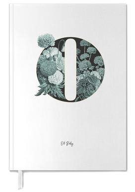 Flower Alphabet - O -Terminplaner