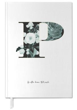 Flower Alphabet - P -Terminplaner