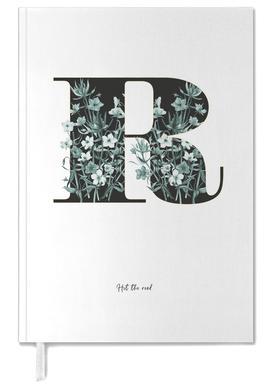 Flower Alphabet - R -Terminplaner