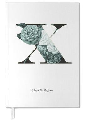 Flower Alphabet - X agenda