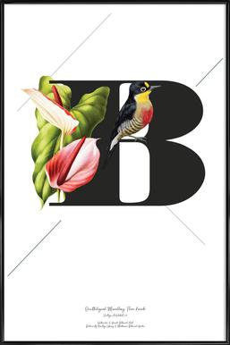 Botanical Alphabet - B