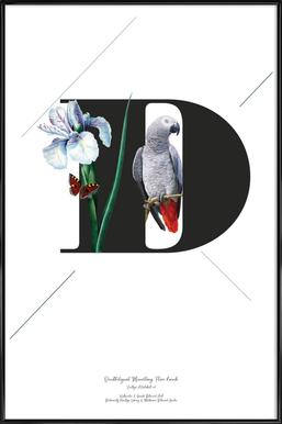 Botanical Alphabet - D