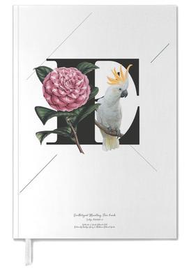 Botanical Alphabet - E agenda