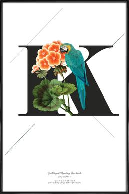 Botanical Alphabet - K