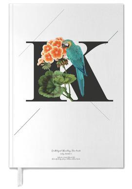 Botanical Alphabet - K -Terminplaner