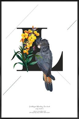 Botanical Alphabet - L