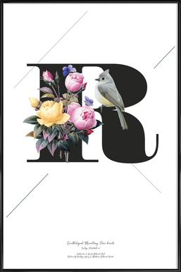 Botanical Alphabet - R