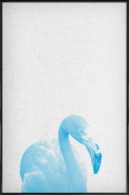 Flamingo 04 ingelijste poster