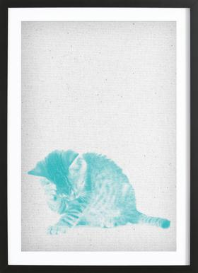 Kätzchen 02 Framed Print