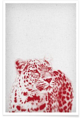 Leopard -Poster