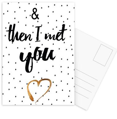 Met You cartes postales
