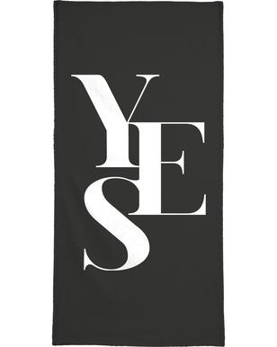 Yes 1 -Handtuch