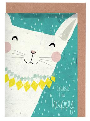 Because I'm Happy Greeting Card Set