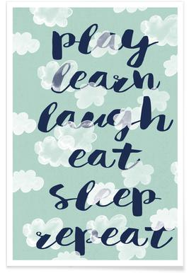 Play Learn Laugh Poster
