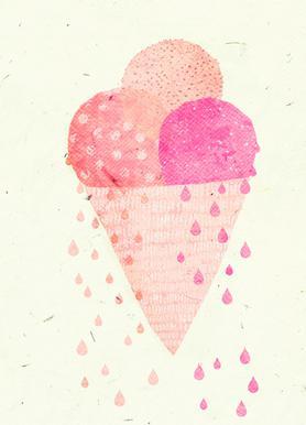 Yummy Ice Canvas Print