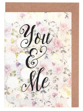 You and Me Greeting Card Set