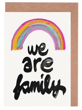 We Are Family cartes de vœux