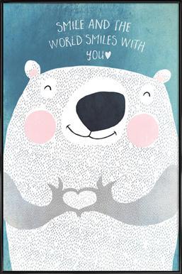 Smile Framed Poster