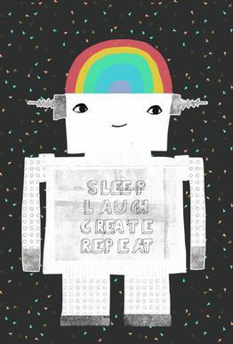 Sleep Laugh Create