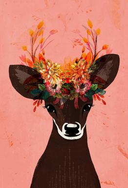 Blooming Deer
