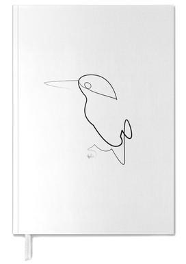 One Line Night Bird Personal Planner