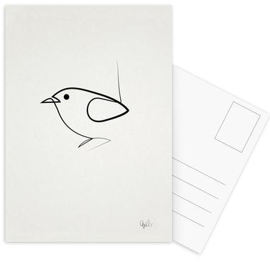 Simple as a Bird Postcard Set