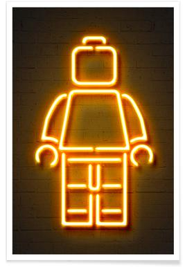 Minifig Poster