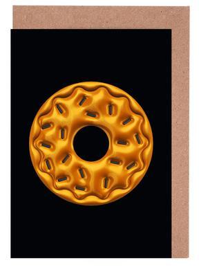 Donut Greeting Card Set