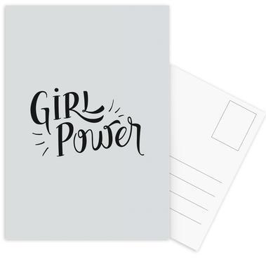 Girl Power Postcard Set