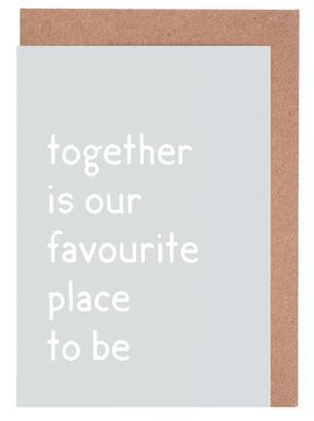 Together -Grußkarten-Set