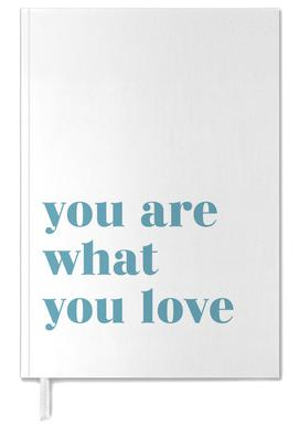 You Are What You Love Personal Planner