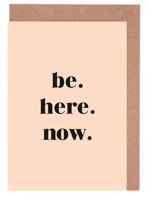 Be Here Now -Grußkarten-Set