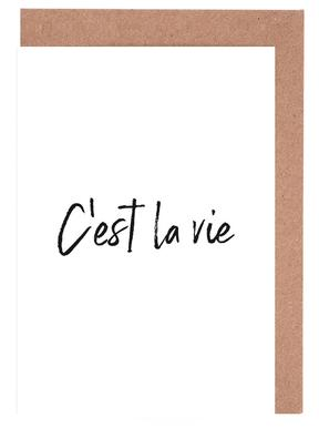 C'est La Vie Greeting Card Set
