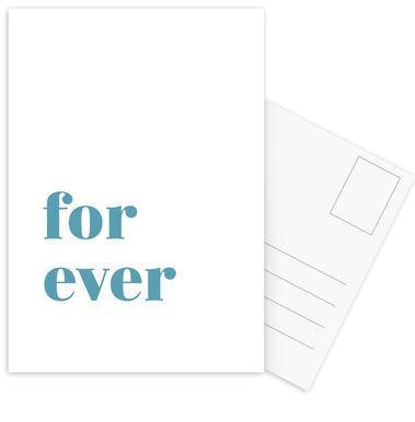 For Ever -Postkartenset
