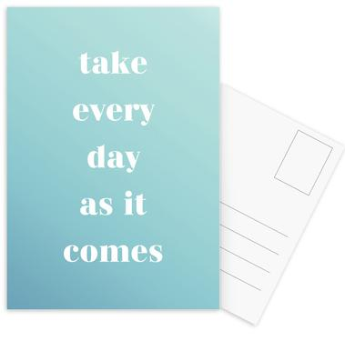 Take Every Day -Postkartenset