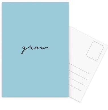 Grow Postcard Set