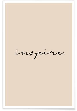 Inspire Typography Poster