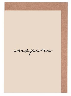 Inspire -Grußkarten-Set