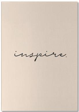 Inspire -Notizblock