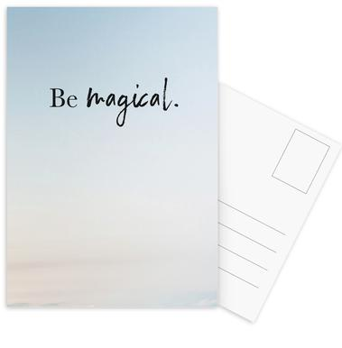Be Magical -Postkartenset