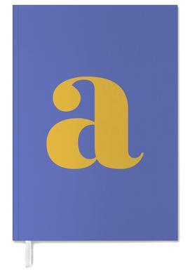 Blue Letter A -Terminplaner