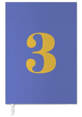 Blue Number 3 -Terminplaner