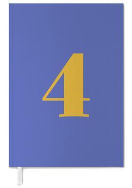 Blue Number 4 -Terminplaner